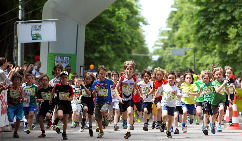 Kinderlauf in Wien